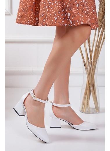 Dilimler Ayakkabı Ayakkabı Beyaz